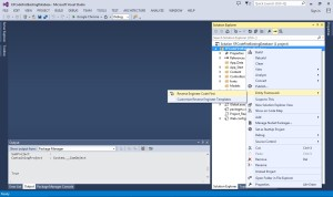 Reverse Engineer Code First Entity Framework