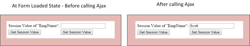 How to get/set the value of a session variable using