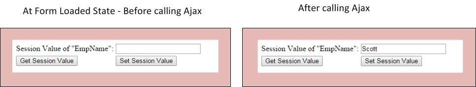 Session Ajax Form
