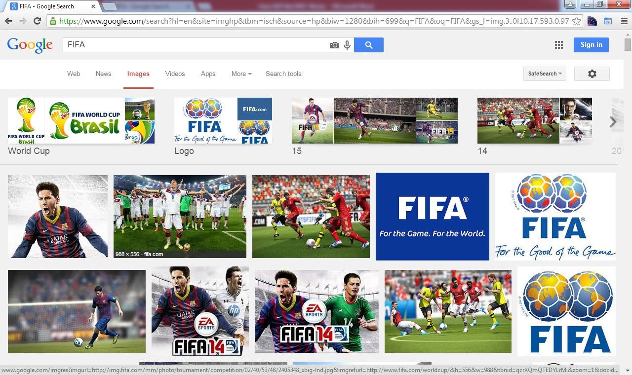 Google FIFA